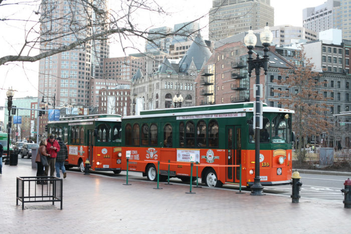 8. Trolley Tours of Boston