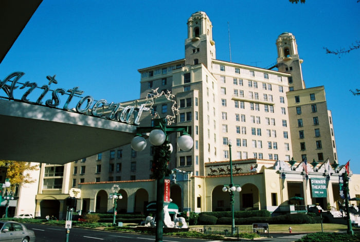 I've got great news: you're staying at the Arlington Hotel & Spa at 239 Central Avenue. You can check in at 3 p.m.