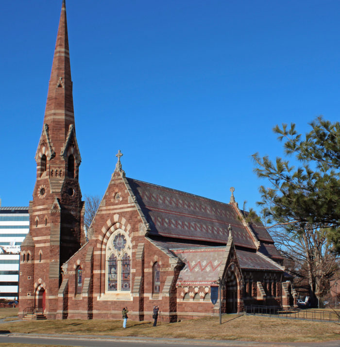 8. The work on this Hartford church is so intricate that it looks painted!