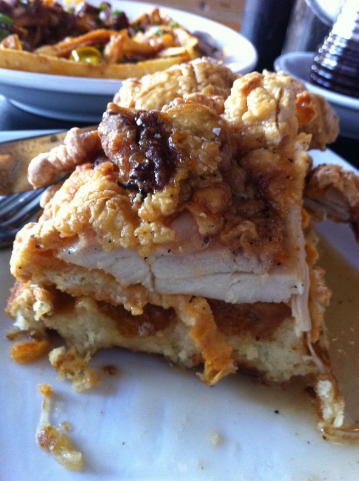 3. 24 Diner's yeast-risen waffles with fried chicken on top? To..die...for!
