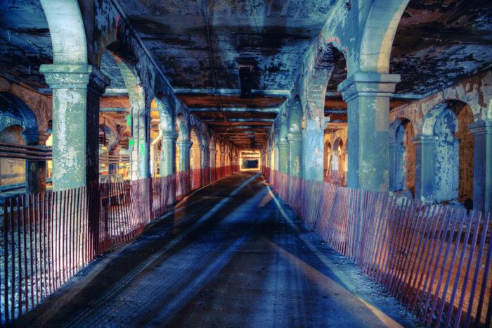 12. Cleveland's abandoned subway (The Detroit-Superior Bridge)