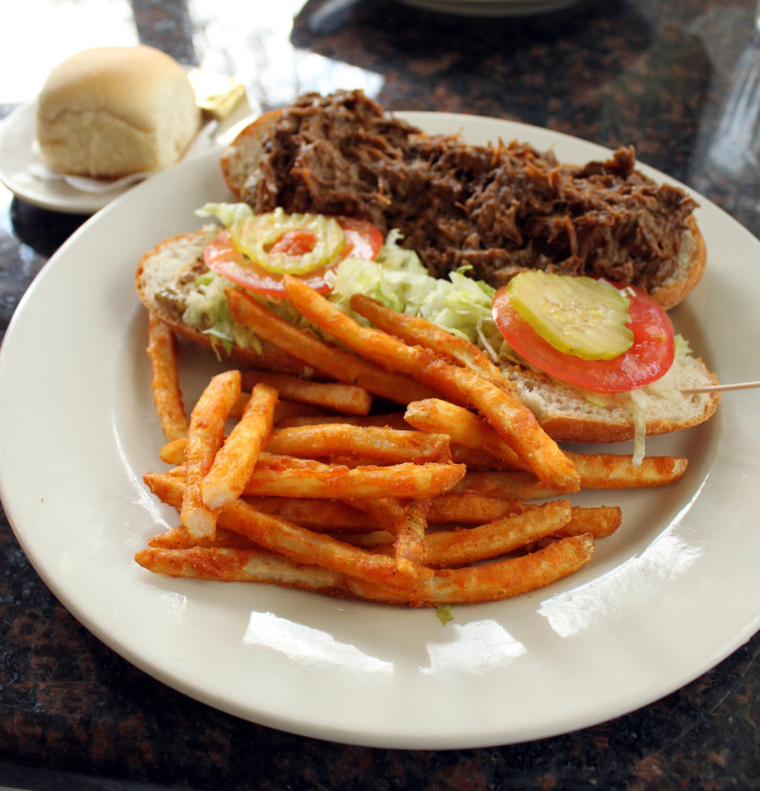 2) Yes, you want your po-boy dressed.
