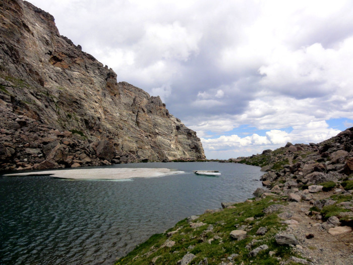 2. Andrew's Tarn and Glacier