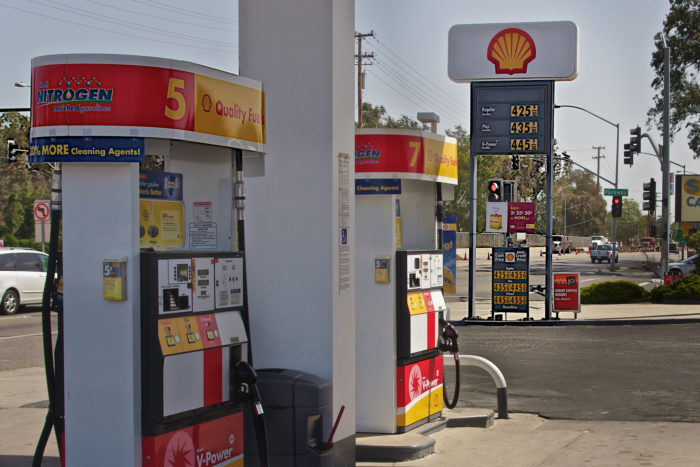 6. Gas prices