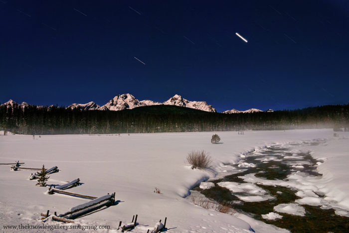 6. This absolutely stunning shot of Stanley Lake...