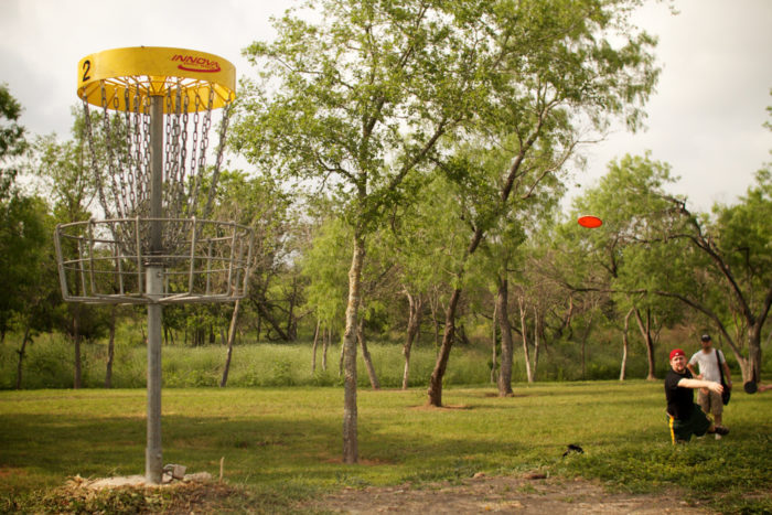 8. Fancy a game of disc golf? It's pretty popular in Austin, so bring your A-game to disc golf trails like the one at Zilker Park.