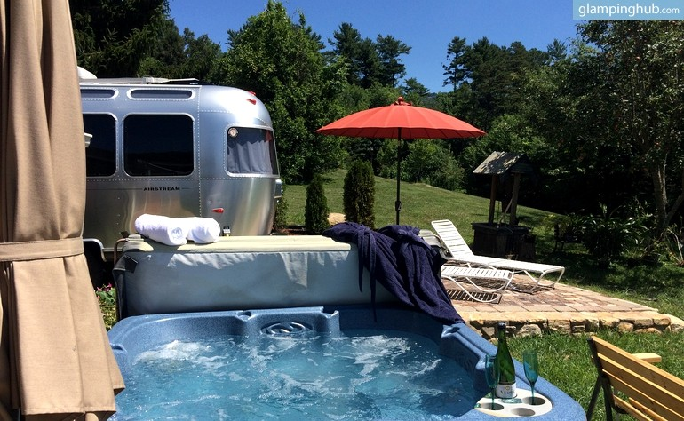 Airstream Los Angeles >> 8 Luxury Glampgrounds In North Carolina