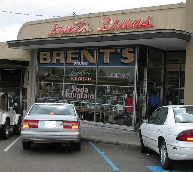 6.  Brent's Drug Store and Soda Fountain, Jackson