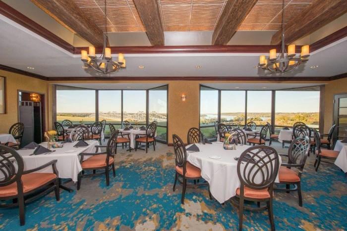 7. The Pilot House Restaurant in Hotel Vue, Natchez