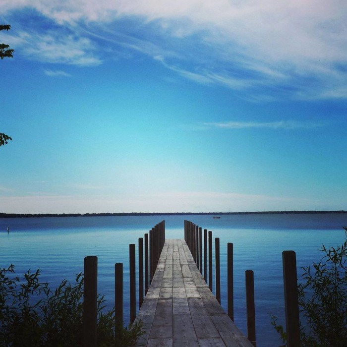 7. Relax and enjoy a day at the beach at the Iowa Great Lakes