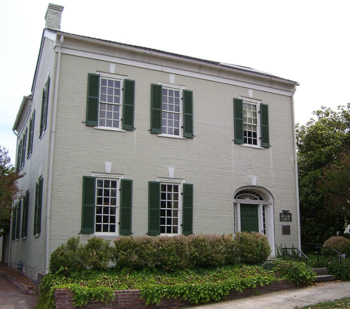 7. James K. Polk House
