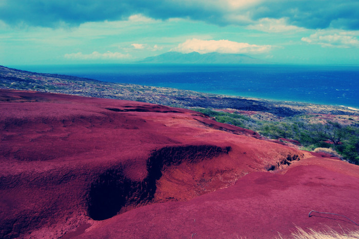 7. The small Hawaiian island of Kaho'olawe was used as a target for military training until 1990, and is littered with bombshells to this day.
