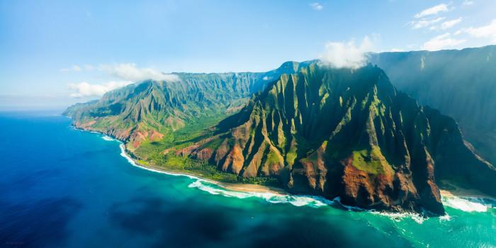 7. Kauai's Na Pali Coast
