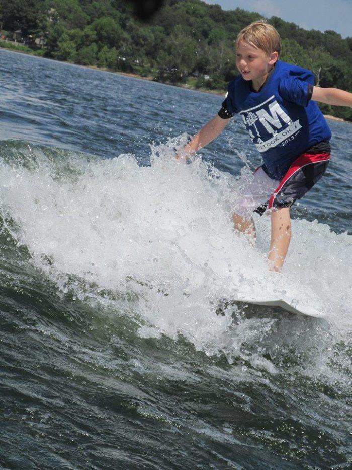 7. Surfing, Monkey Island.