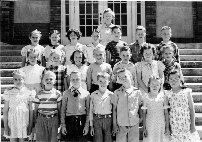 10. Your high school graduating class had all of the same people that were in your elementary school.