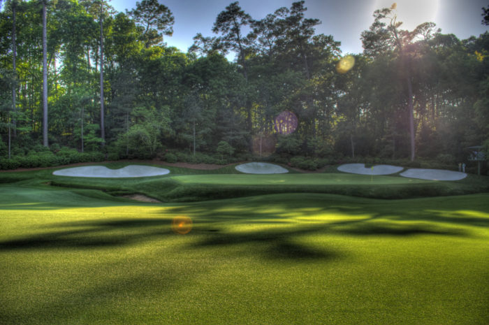 9. The Masters held annually in Augusta did not start off on the right foot.