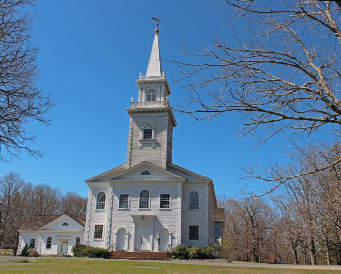 12. East Haddam keeps it quaint and stunning with First Church of Christ Congregational.