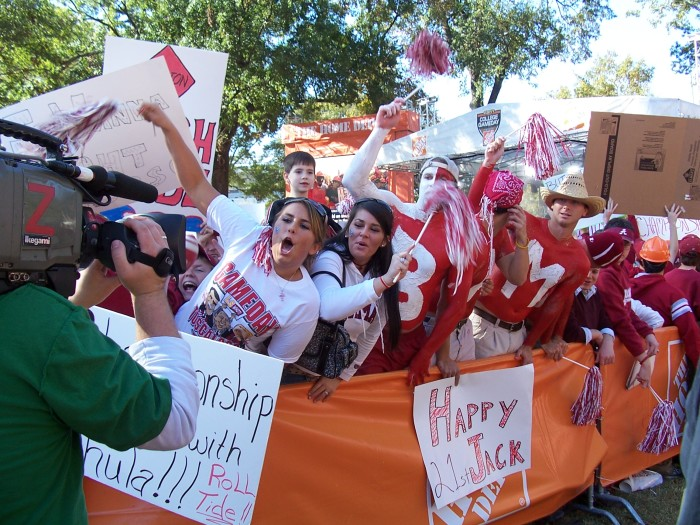 9. Nothing compares to the excitement of college football in Alabama.