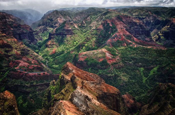 Hawaii: Waimea Canyon, Kauai