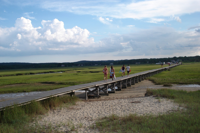 6. There's nothing like a stroll along the Sandwich Boardwalk to put you at one with the coastal beauty of the Cape.