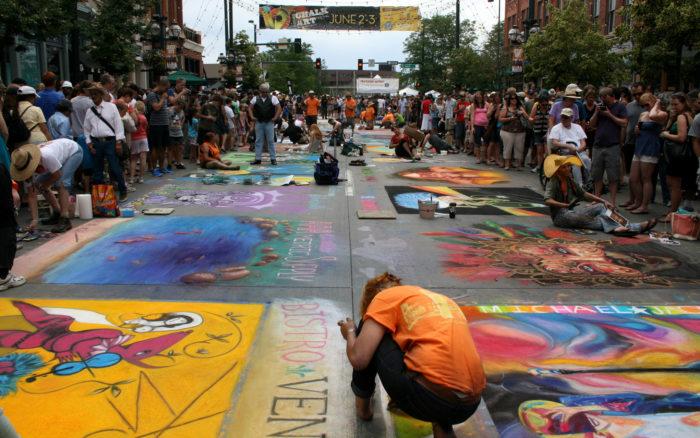 1. Denver Chalk Art Festival, June 4-5, 2016