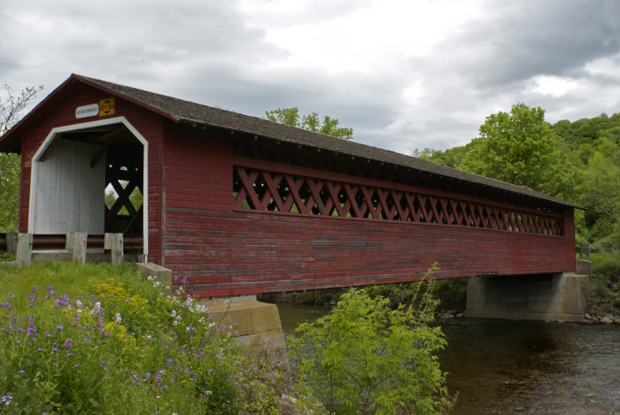 3.  Silk Covered Bridge, Bennington