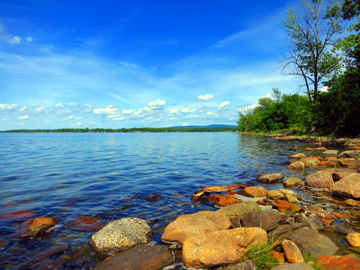 11.What's the closest beach to Vermont?