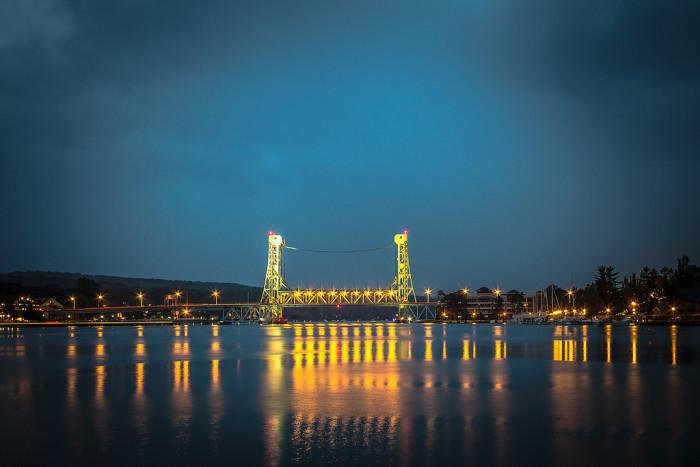 12. Portage Lake Lift Bridge, Houghton