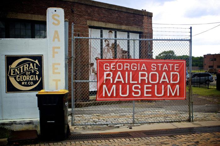 4. Georgia State Railroad Museum—655 Louisville Rd. Savannah, GA 31401