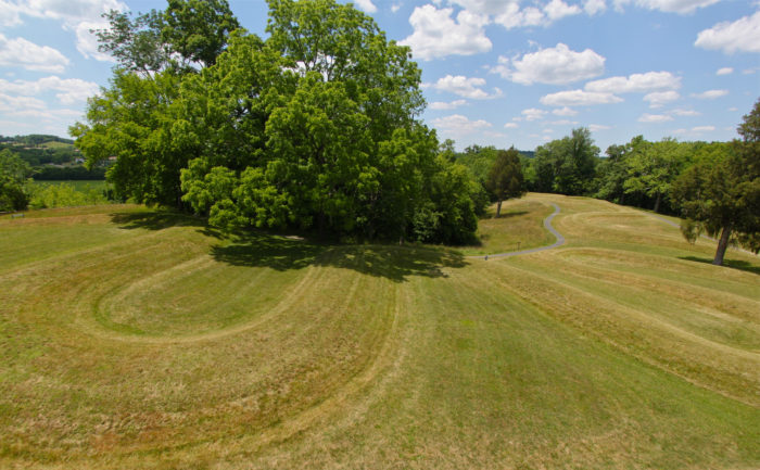 9. Discover the earthworks of Ohio.