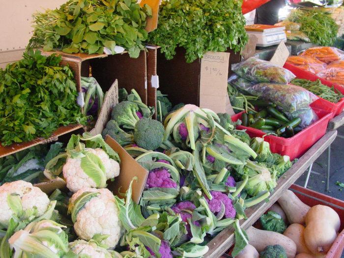 7. Farm-fresh food.