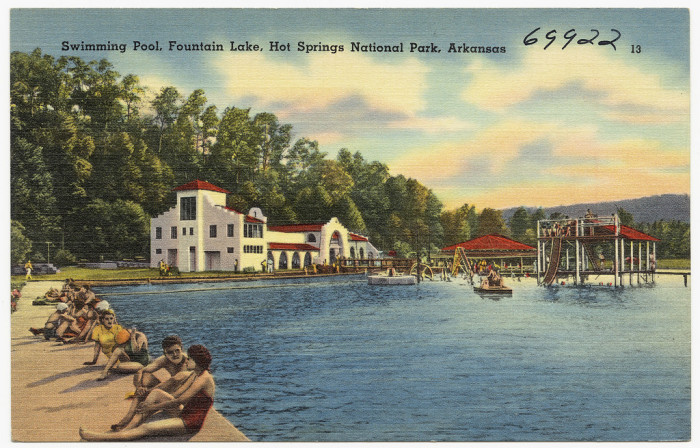12.Arkansas is home to the first piece of land protected by the United States government for recreational use. First named Hot Springs Reservation, now called Hot Springs National Park, the land was protected before the concept of a National Parks Service was invented.