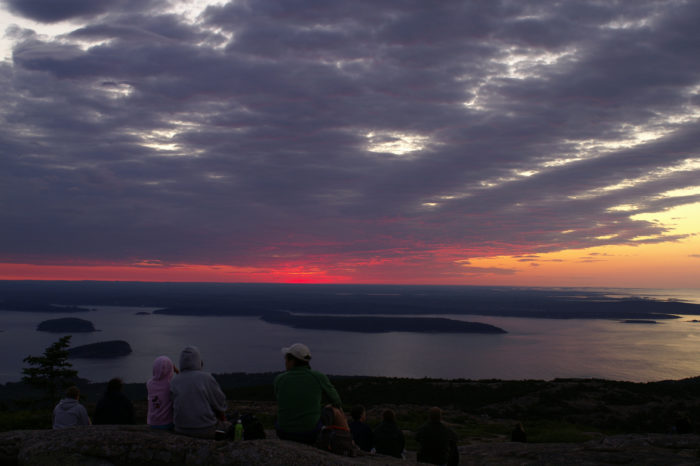 3. Cadillac Mountain isn't always the first place to see the sunrise.