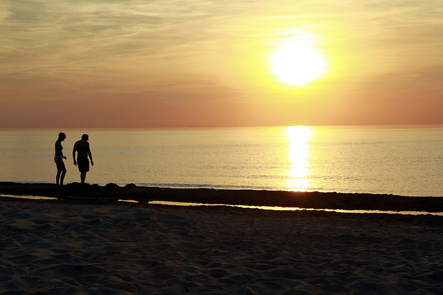 10. Watch the sunset at the gorgeous Indiana dunes...