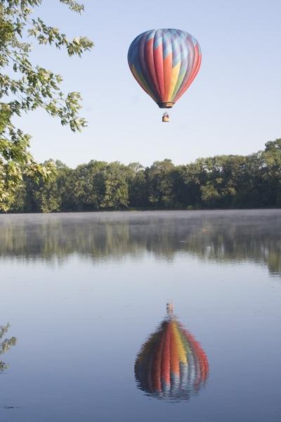 12. Misty River Ballooning, Northampton