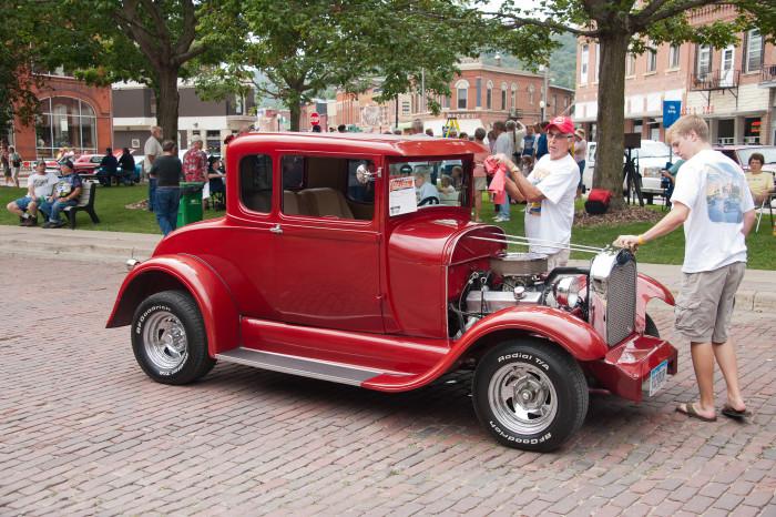 Blue Grass Iowa Car Show