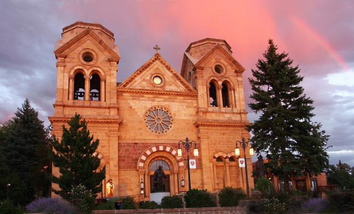 8. Cathedral Basilica of St. Francis of Assisi, Santa Fe