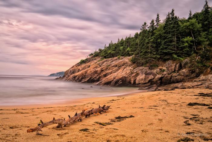 13. Ocean Path in Acadia Natial Park, Maine