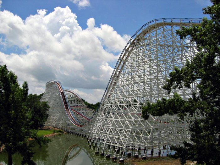 10. Six Flags Over America is actually named after...