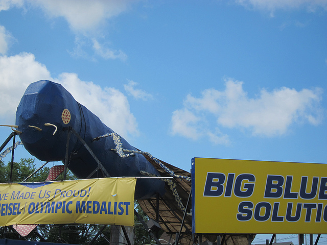 9. Most Rhody residents have struggled to explain the Big Blue Bug to at least one out of towner.