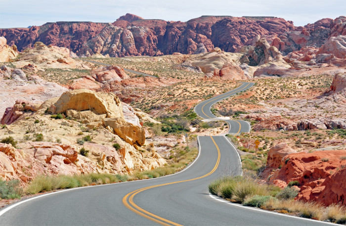 13. Nevada's scenic drives are INCREDIBLE.