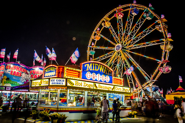 8. Head on down to the state fair and win your sweet a prize.