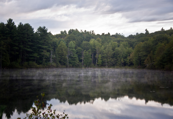 10. While the name might indicate otherwise, Little Purgatory Pond in Litchfield soothes the soul.