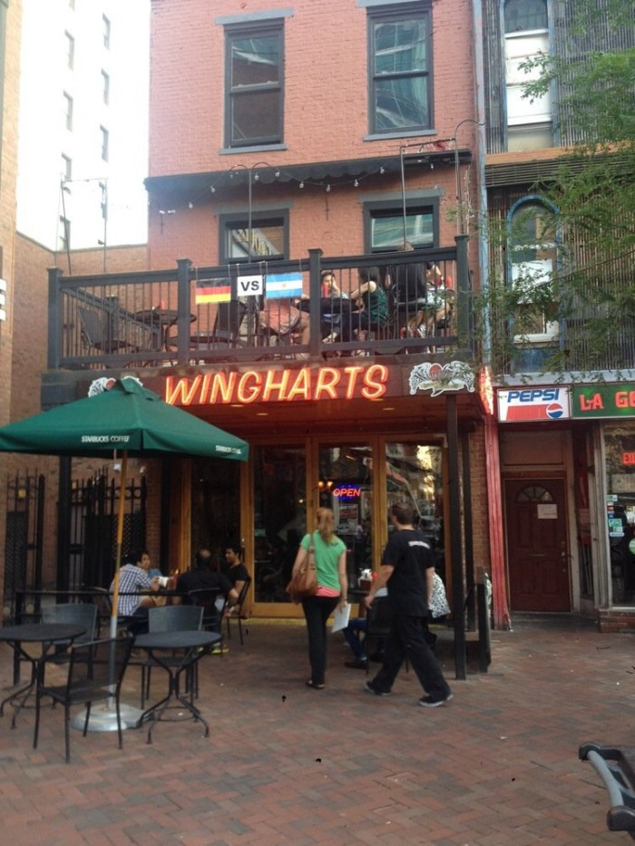 8. Winghart's Burgers