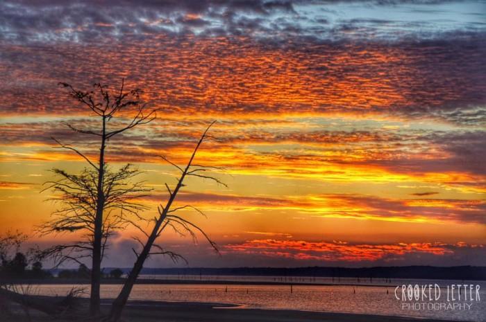 8. Sardis Lake Recreation Area, Lafayette, Panola, and Marshall Counties