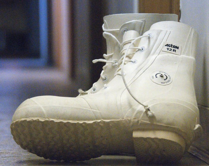 9. The most popular wintertime shoes are worn by both the guys and the girls.