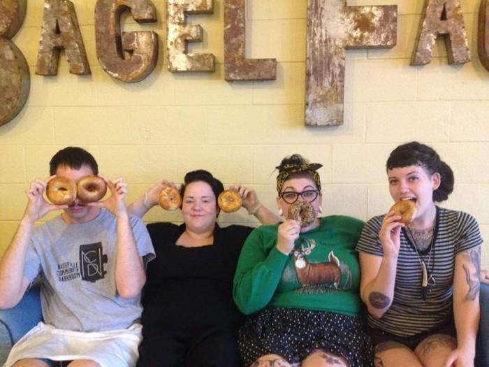 8. Bagel Face Bakery - East Nashville