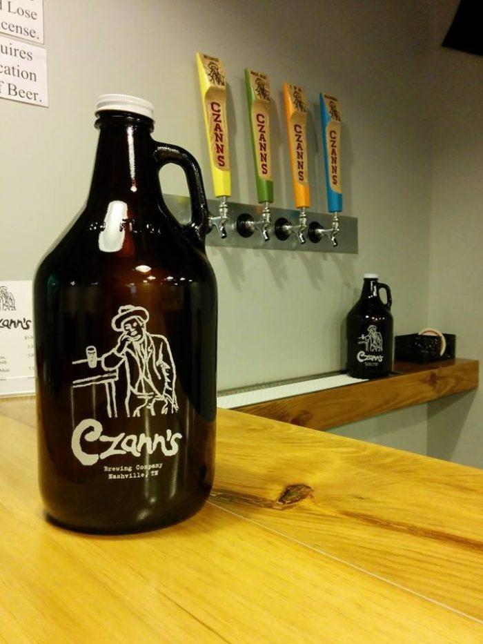 8. Czann's Brewing Company