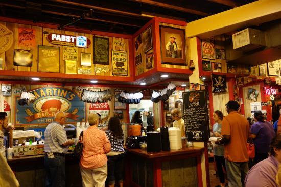 6. Martin's Bar-B-Que Joint