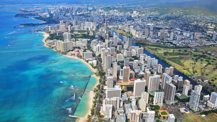8. Waikiki attracts 72,000 visitors on any given day, accounting for nearly half of all tourists across the state of Hawaii.